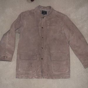 Men's Suede Cream Jacket
